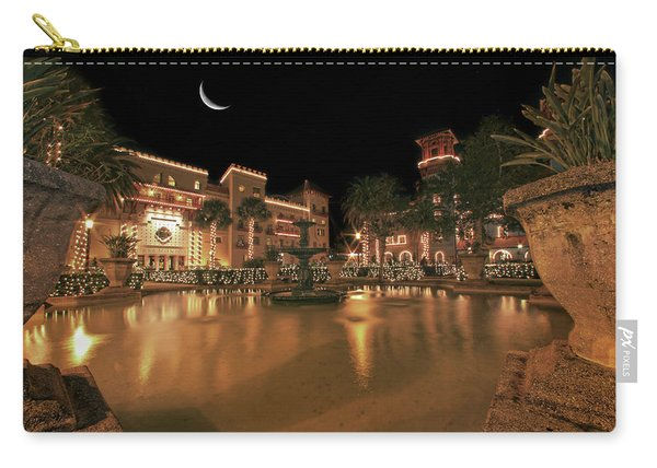 Moon Over St Augustine Carry-all Pouch