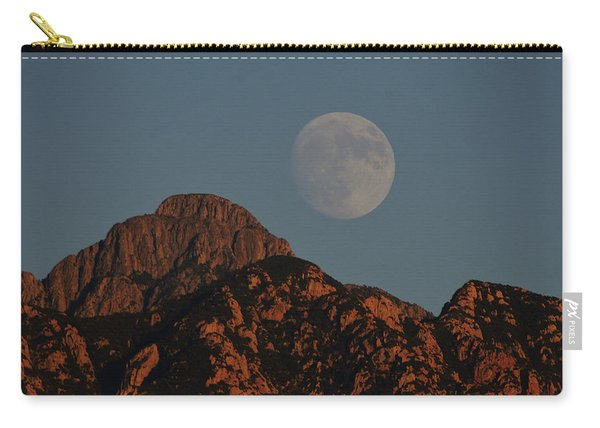 Moon Rise Over Mount Wrightson  Carry-all Pouch