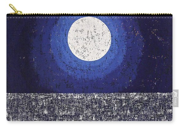 Moonbathing Original Painting Carry-all Pouch