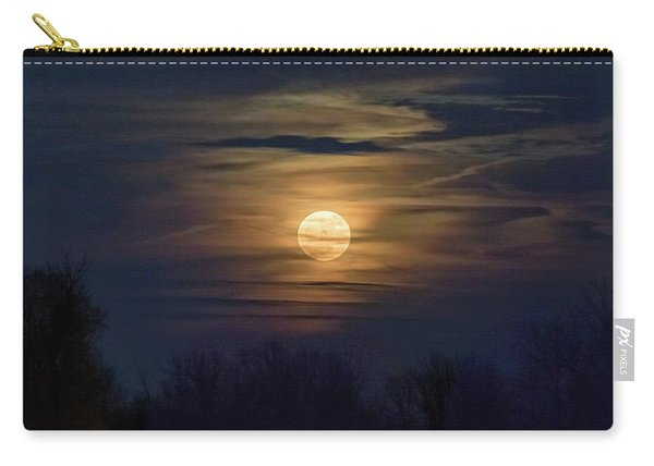 Carry-all Pouch featuring the photograph Moonrise by Allin Sorenson