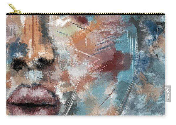 Moonshine-woman Abstract Art Carry-all Pouch