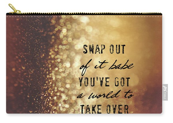 Moonstruck Quote Carry-all Pouch