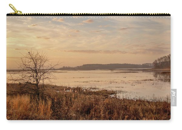 Morning At Boombay Hook Carry-all Pouch