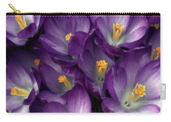 Morning Crocus Carry-all Pouch