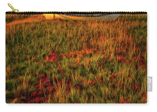Carry-all Pouch featuring the photograph Morning Dory by Jeff Sinon