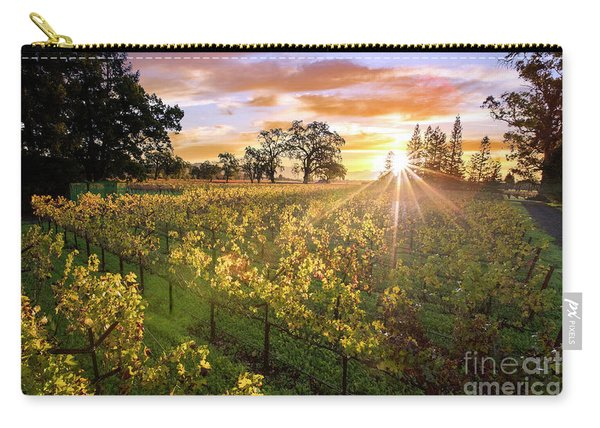 Morning In Napa Carry-all Pouch