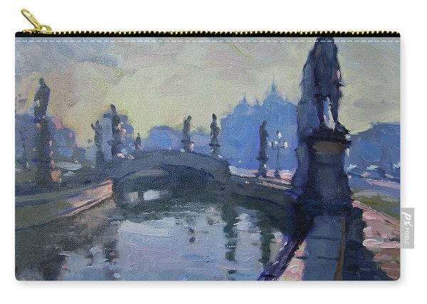 Morning In Padua Italy Carry-all Pouch