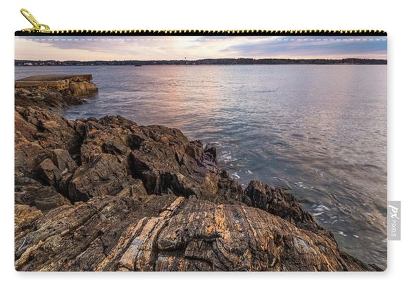 Morning Light Over The Piscataqua River. Carry-all Pouch