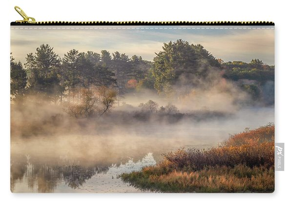 Morning Mist On The Sudbury River Carry-all Pouch