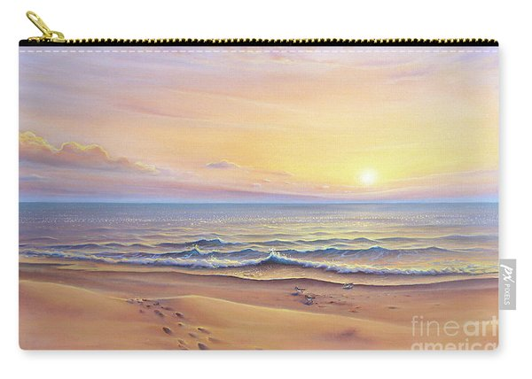 Morning Sea Breeze Carry-all Pouch