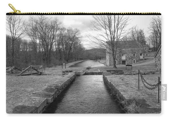 Morris Canal And Lock - Waterloo Village Carry-all Pouch