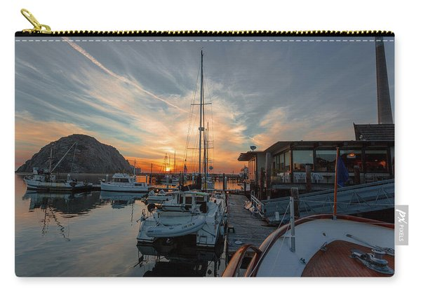 Morro Bay Sunset Carry-all Pouch