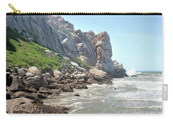 Morro Rock And Ocean Carry-all Pouch