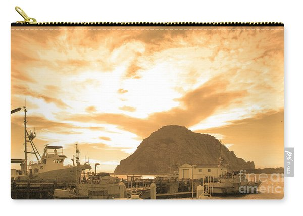 Morro Rock Sky Carry-all Pouch