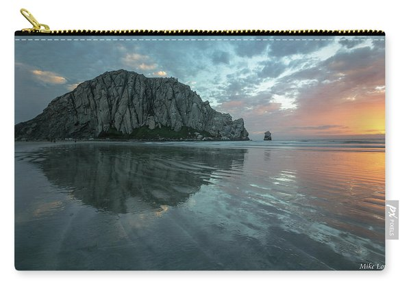 Morro Rock Sunset Carry-all Pouch