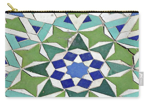 Mosaic Exterior Decorations Of The Hassan II Mosque Carry-all Pouch