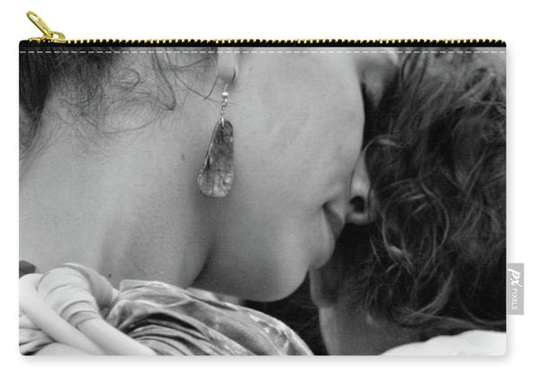 Carry-all Pouch featuring the photograph Mother And Child by Catherine Sobredo