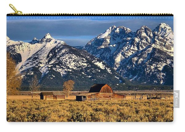 Moulton Barn Grand Tetons Carry-all Pouch