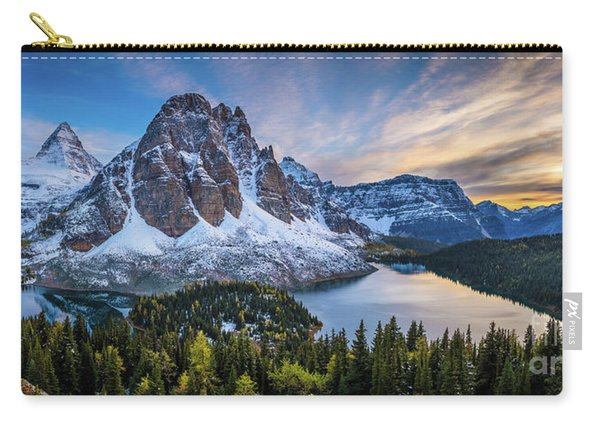 Mount Assiniboine Panorama Carry-all Pouch