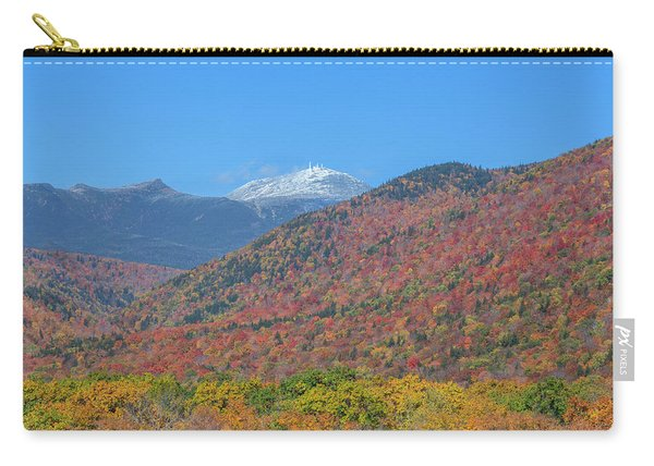 Mount Washington First Foliage Snow Carry-all Pouch