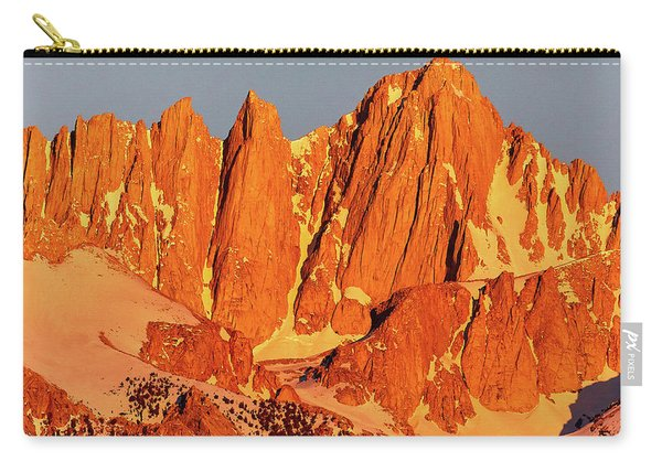 Mount Whitney Sunrise Carry-all Pouch