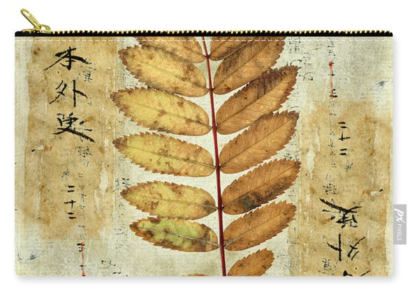 Mountain Ash Leaves Carry-all Pouch