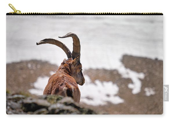 Mountain Goat . 3.000 Meters High. Carry-all Pouch