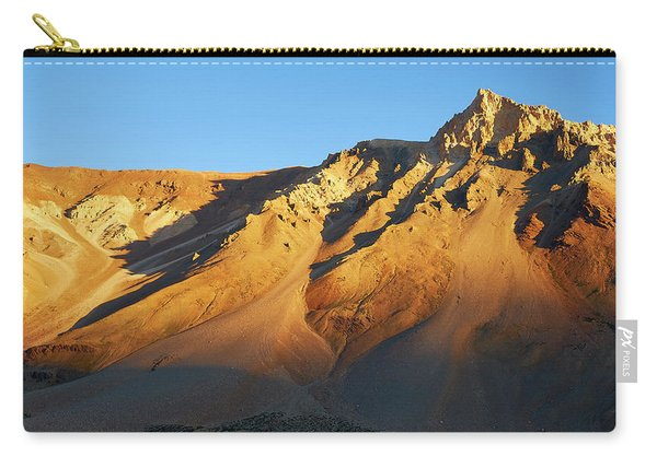 Carry-all Pouch featuring the photograph Mountain Gold by Whitney Goodey