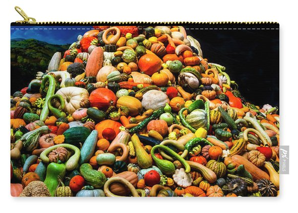 Mountain Of Gourds Carry-all Pouch