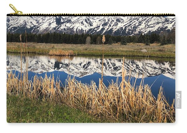 Mountain Reflection Carry-all Pouch