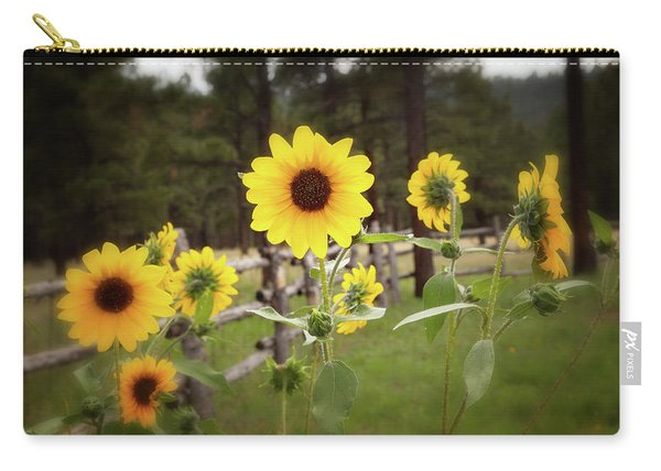 Mountain Sunflowers Carry-all Pouch