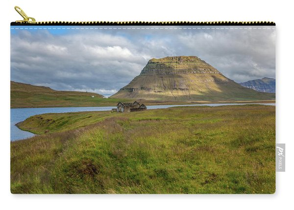 Mountain Top Of Iceland Carry-all Pouch