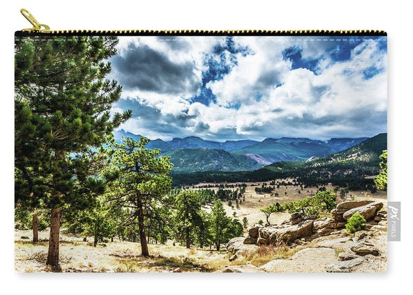 Mountains Across The Way Carry-all Pouch