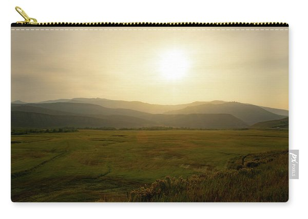 Mountains At Dawn Carry-all Pouch