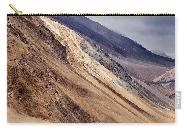 Carry-all Pouch featuring the photograph Mountainside by Whitney Goodey