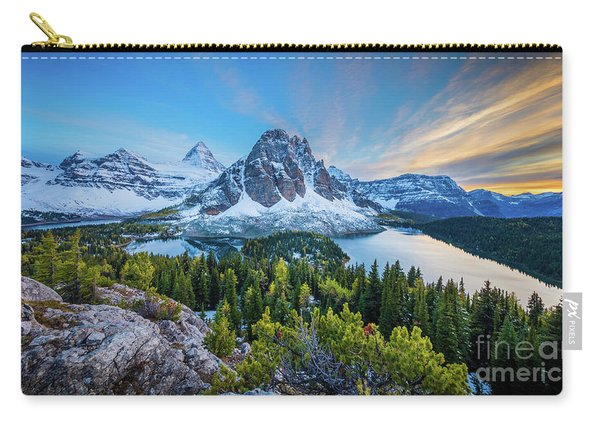 Mt Assiniboine Panorama Carry-all Pouch