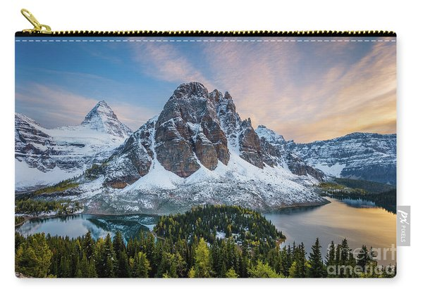 Mt Assinniboine Sunset Carry-all Pouch