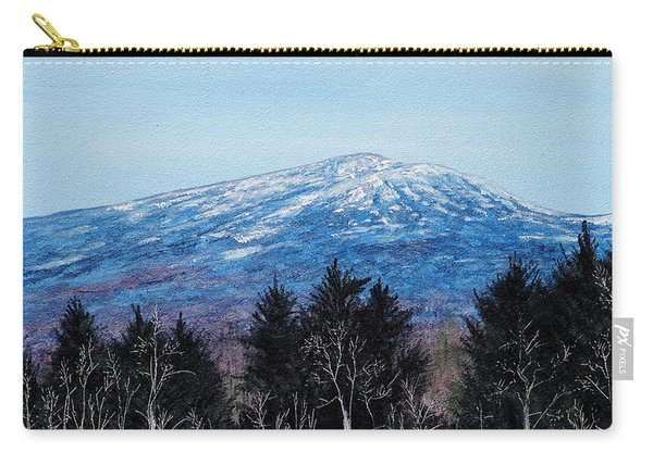 Mt. Monadnock Spring Snow Carry-all Pouch