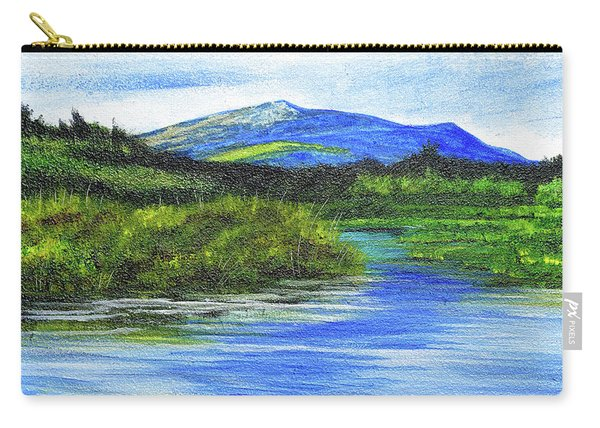 Mt. Monandnock From Scott Brook Carry-all Pouch