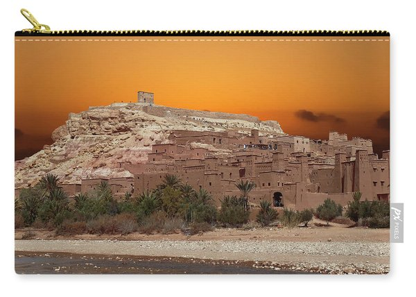 Mud Brick Buildings Of The Ait Ben Haddou Carry-all Pouch