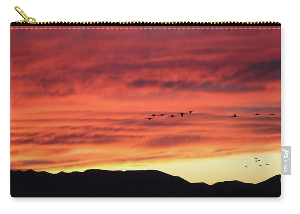 Mule Mountains Sunset Carry-all Pouch