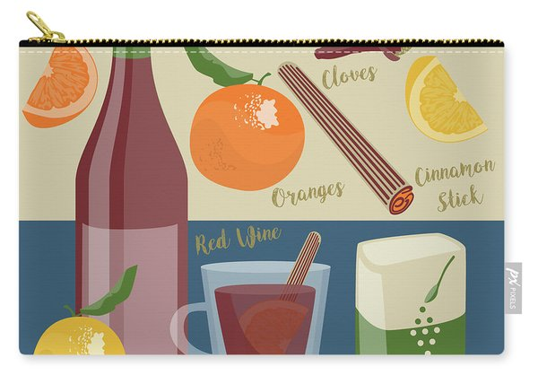 Mulled Wine Carry-all Pouch
