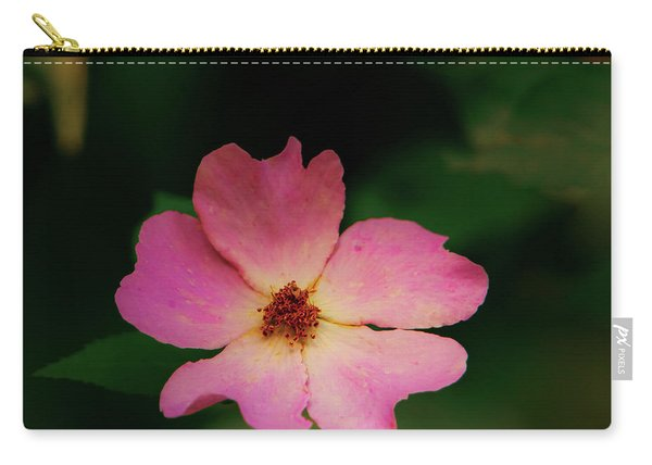 Multi Floral Rose Flower Carry-all Pouch