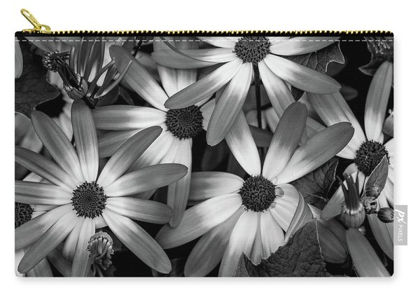 Multiple Daisies Flowers Carry-all Pouch