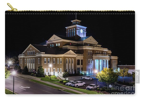 Municipal Center At Night - North Augusta Sc Carry-all Pouch