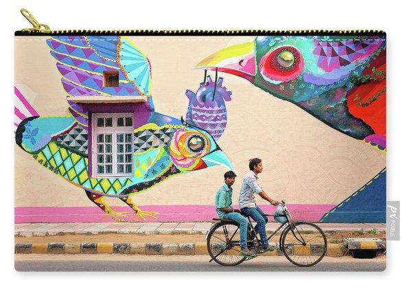 Mural Art Carry-all Pouch