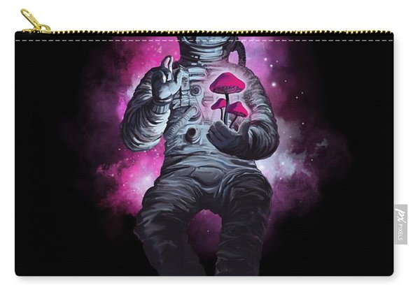 Mushroom Cosmonaut Space Traveller Carry-all Pouch