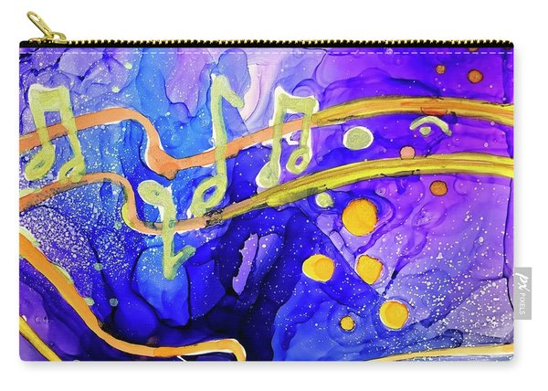 Music Playing Carry-all Pouch