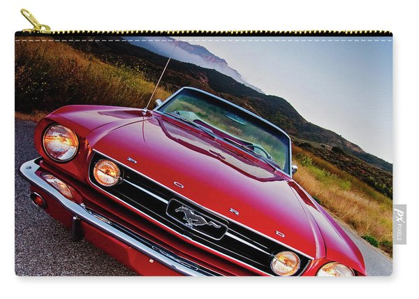 Mustang Convertible Carry-all Pouch