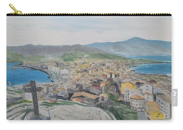 Carry-all Pouch featuring the painting Muxia by Kevin Daly